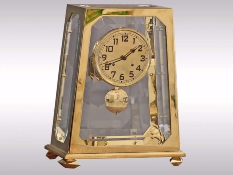 Table-top clock KAMINUHR by Woka Lamps Vienna