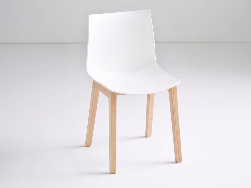 Technopolymer chair KANVAS BL by GABER