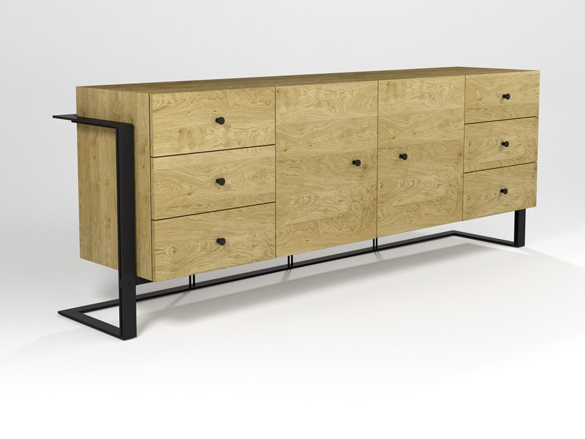 Sideboard with doors KAPPA DUE | Sideboard by Barel