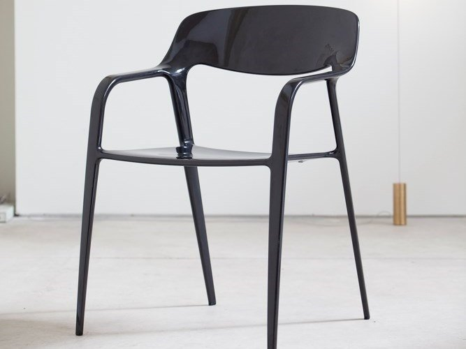 Stackable carbon fibre chair KARBON by ACTIU
