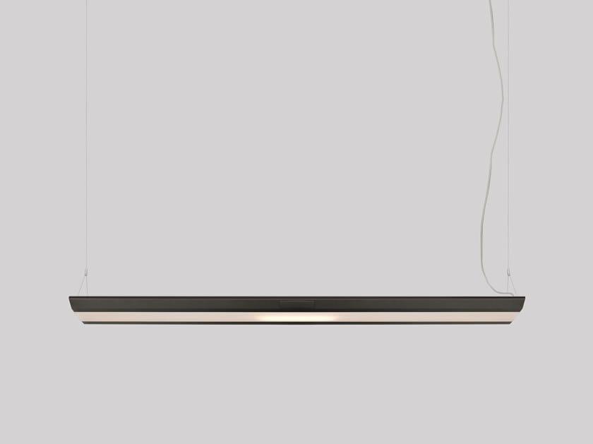 LED direct light aluminium pendant lamp KARDO by Artemide