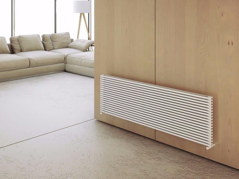 Horizontal wall-mounted hot-water radiator KARIN VX TANDEM OR by CORDIVARI