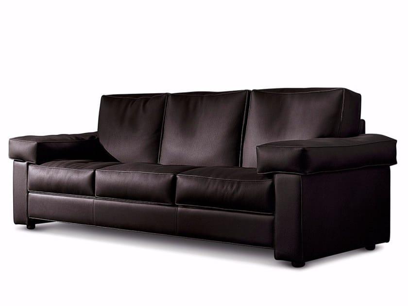 3 Seater Leather Sofa Karisma By Mascheroni