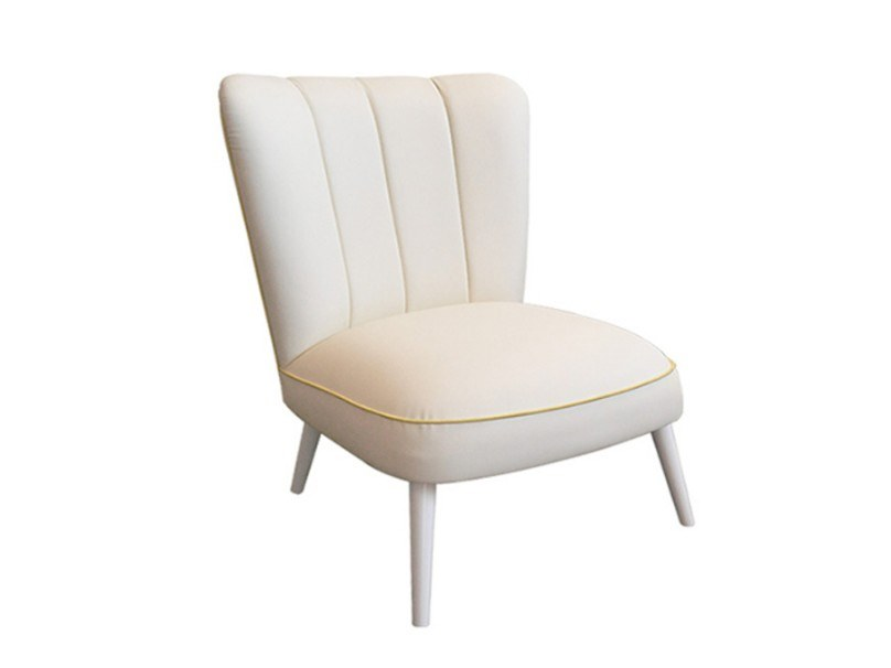 Upholstered fabric armchair KARL by Conceito Casa