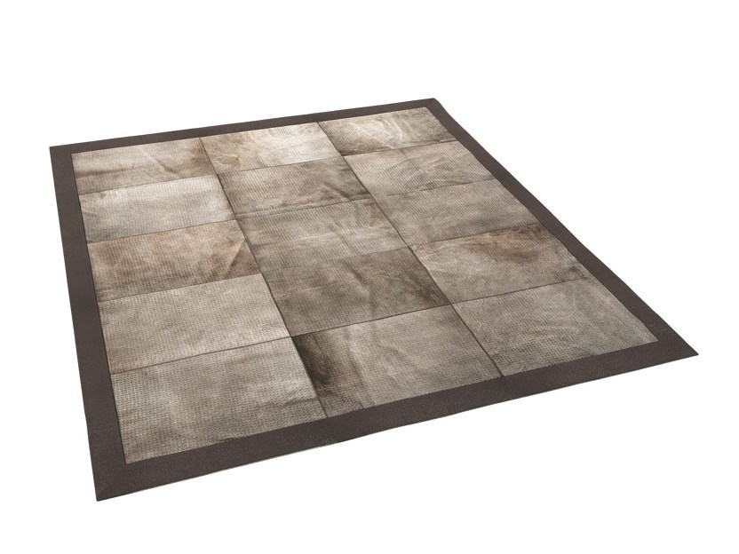 Rectangular horse hide rug KARPET 7 by Capital Collection
