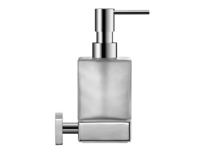 Wall-mounted glass liquid soap dispenser KARREE | Liquid soap dispenser by Duravit