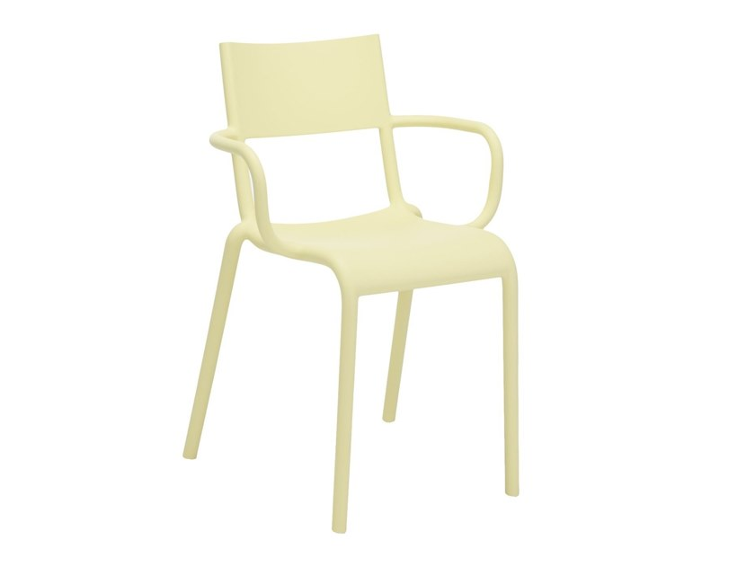 Surprising Kartell Generic A Yellow Inzonedesignstudio Interior Chair Design Inzonedesignstudiocom