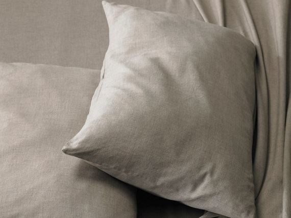 Cotton and cachemire pillow cases KASH by Society Limonta