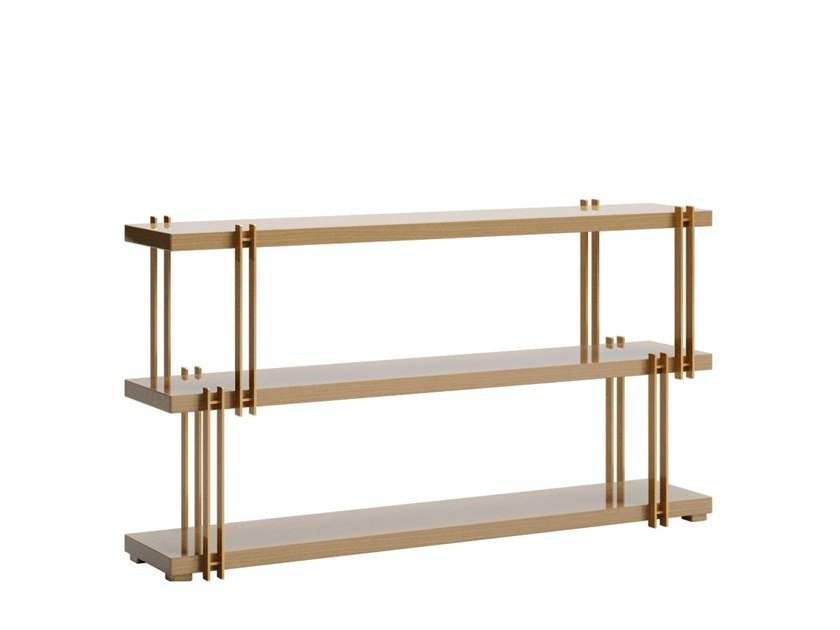 Rectangular console table with shelving KASSEL | Console table by VOLPI