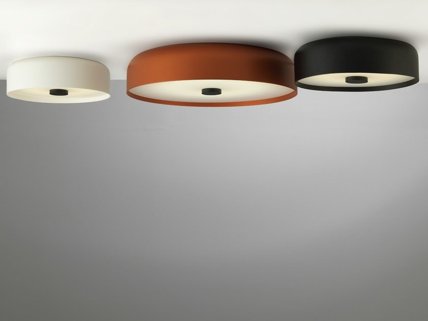 LED aluminium ceiling lamp KAT by Vertigo Bird