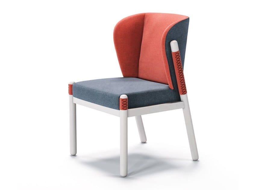 Sedia in tessuto KATANA   Sedia by Aliticon