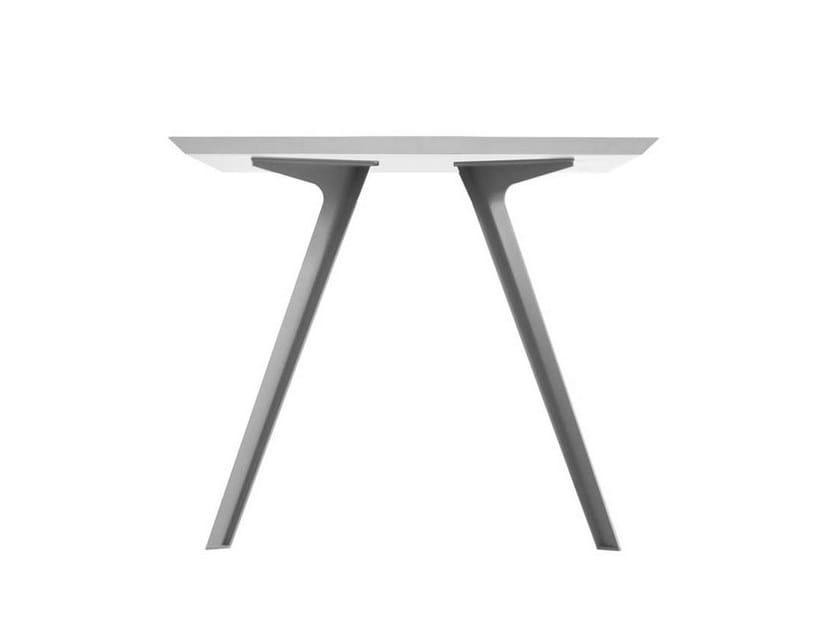 Square garden table KATANA | Square table by Potocco