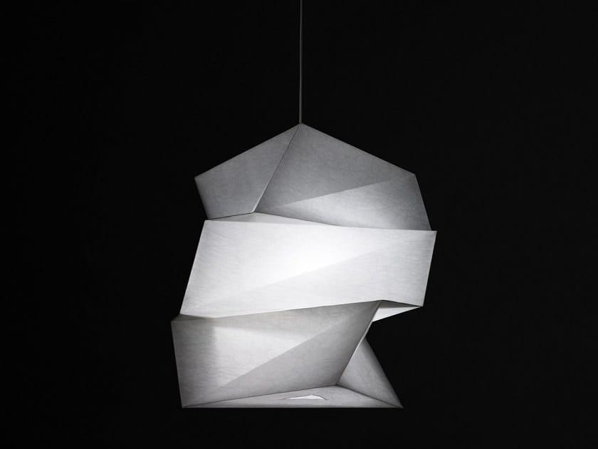 Recycled material pendant lamp KATATSUMURI by Artemide
