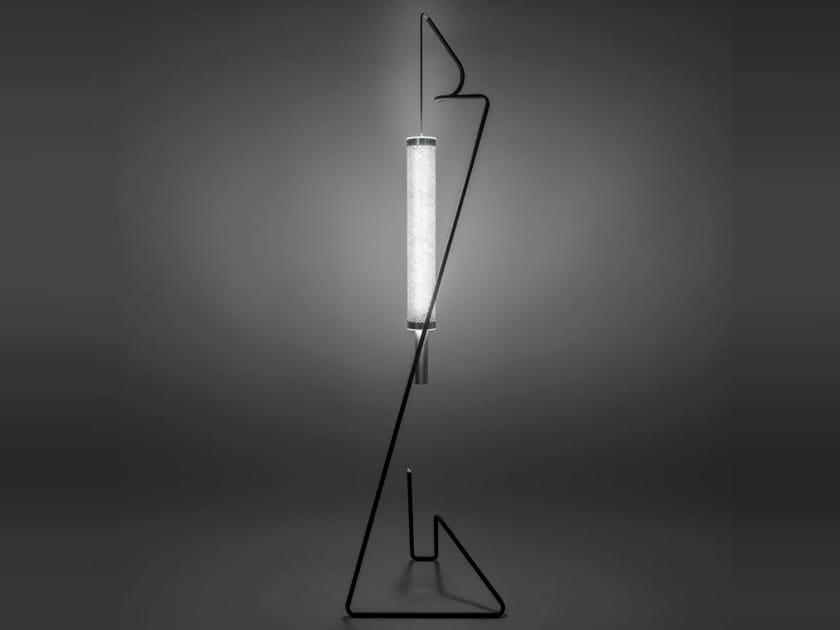 Lampada da terra a LED in acciaio KATE | Lampada da terra by Firmamento Milano