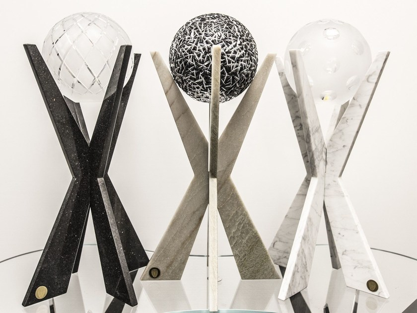 Marble table lamp KATUNA | Marble table lamp by Placidia