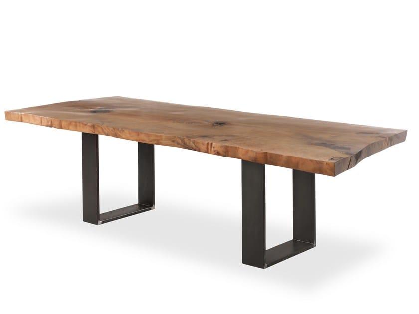 Kauri wood table KAURI NEWTON by Riva 1920