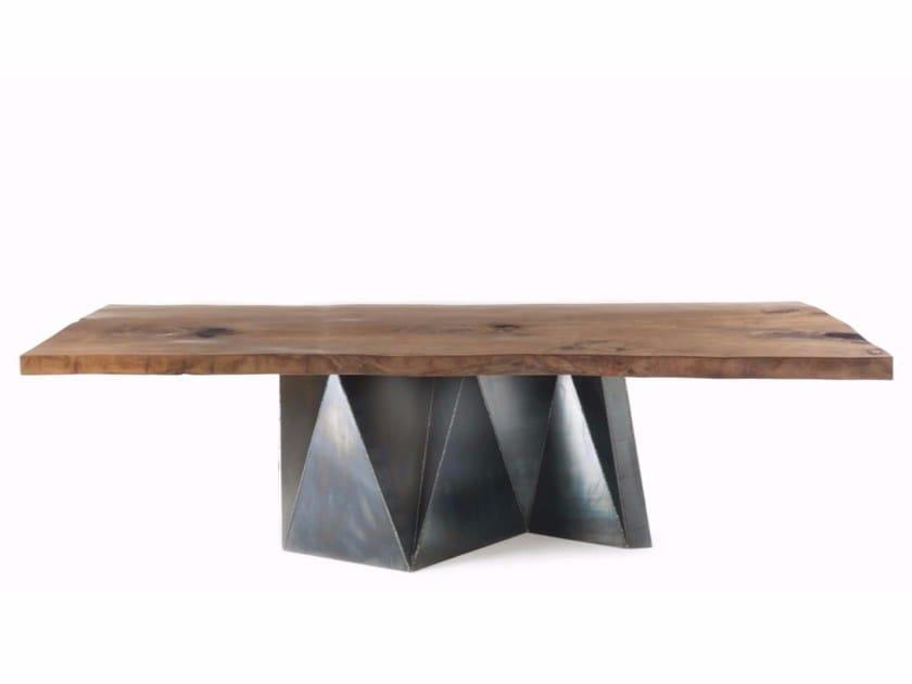 Kauri wood table KAURI OOKI by Riva 1920