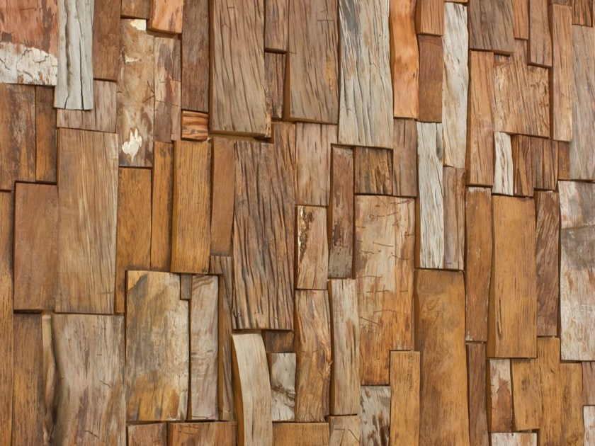 Kauri wood 3D Wall Cladding KAURI WOOD PANELLING by Riva 1920