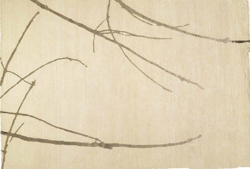 Patterned rectangular rug KAWA by Toulemonde Bochart