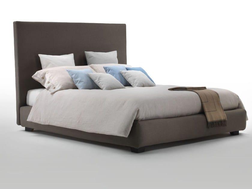 Fabric bed with high headboard KAY by Marac