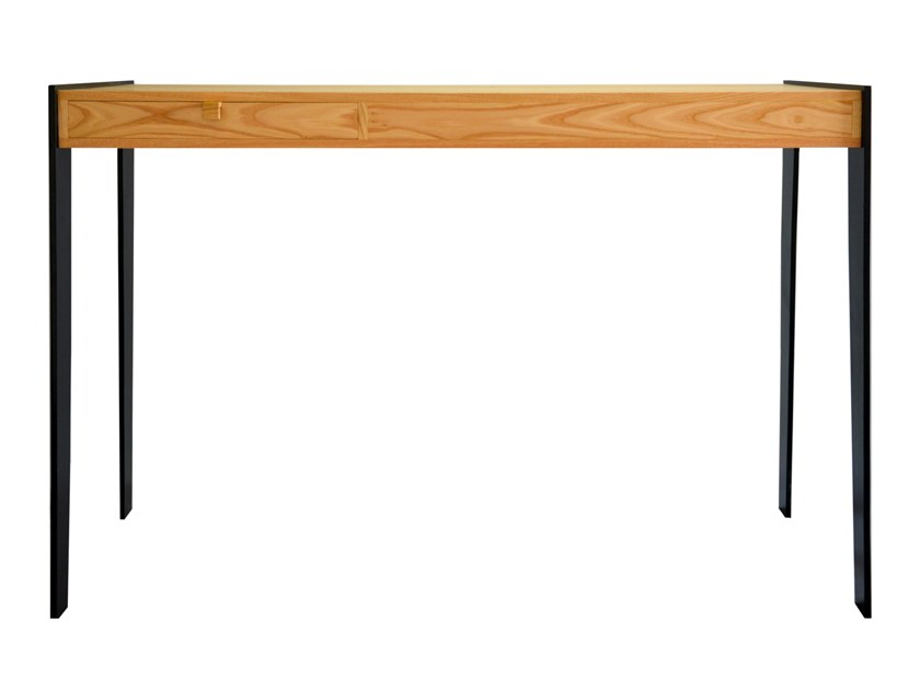 Oak Secretary Desk With Drawers Kayla By Emnastudio