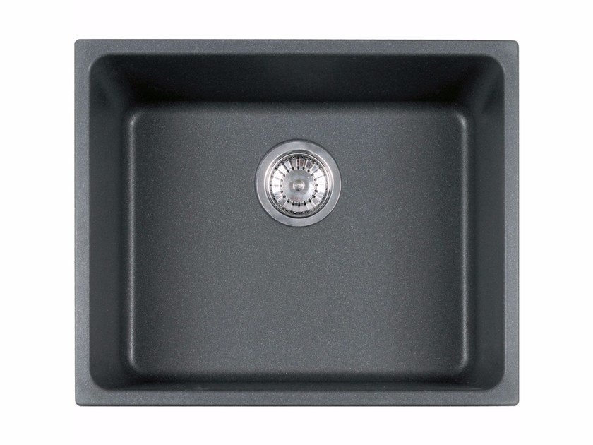 Single built-in undermount Fragranite® sink KBG 110 By FRANKE