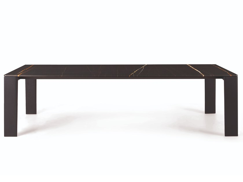 Rectangular table KEEL | Table by Busnelli