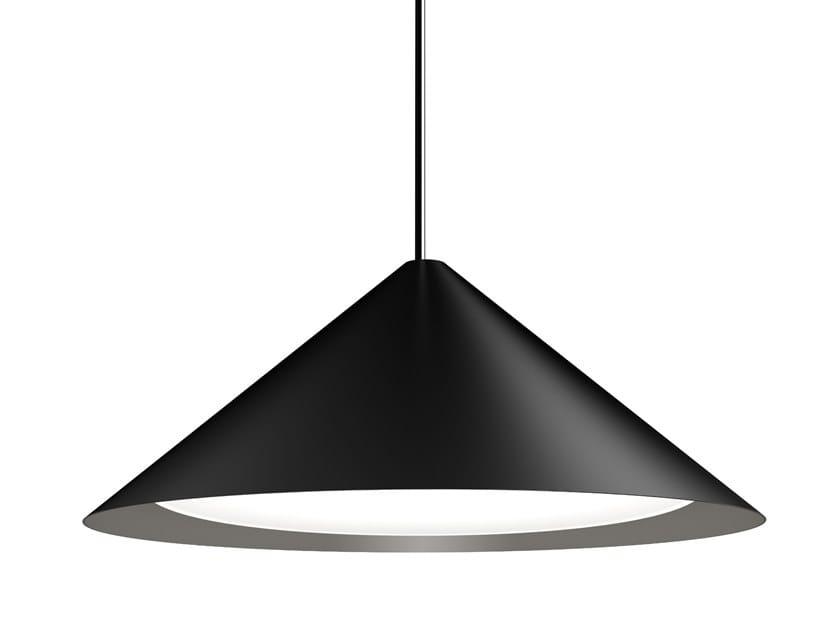 Lámpara colgante LED de aluminio KEGLEN by Louis Poulsen