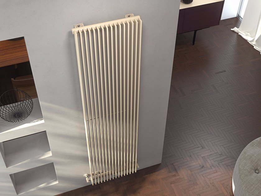 Wall-mounted hot-water radiator KEIRA VT by CORDIVARI