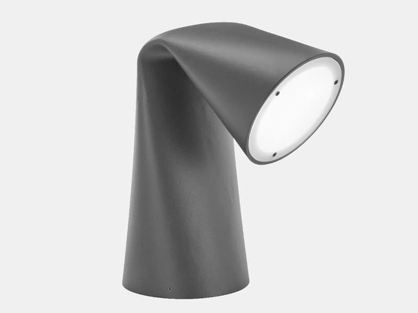 Paletto luminoso a LED in metallo verniciato KEIREI by Il Fanale