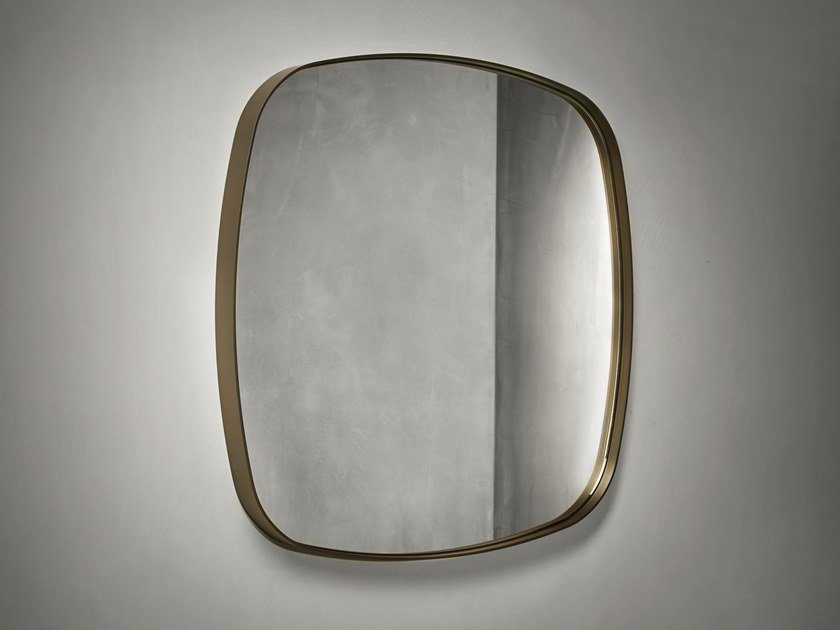 Square wall-mounted mirror KEKKE LIVING | Square mirror by Piet Boon
