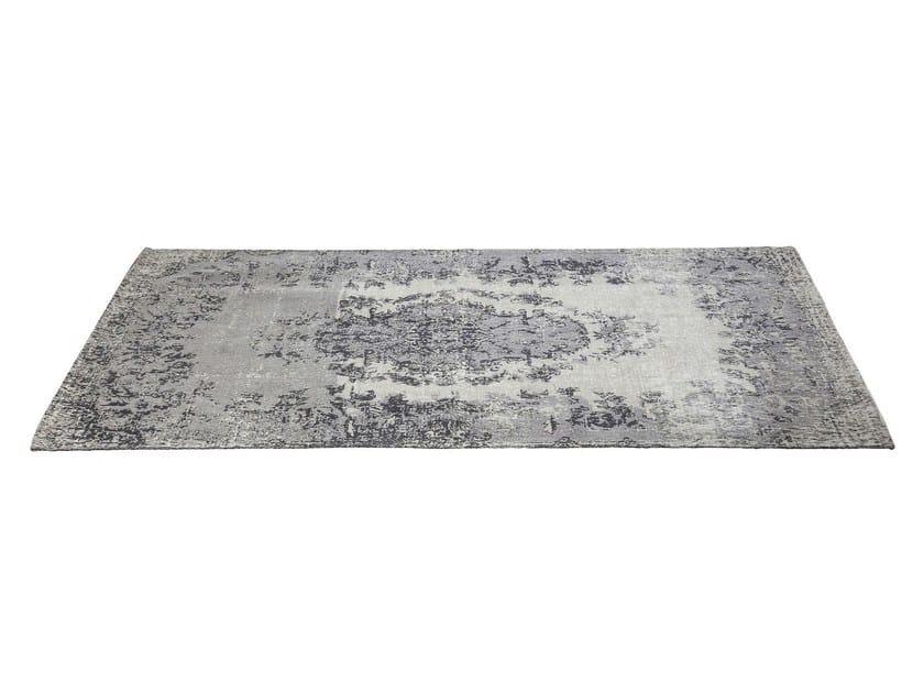 Rectangular cotton rug KELIM POP GREY by KARE-DESIGN
