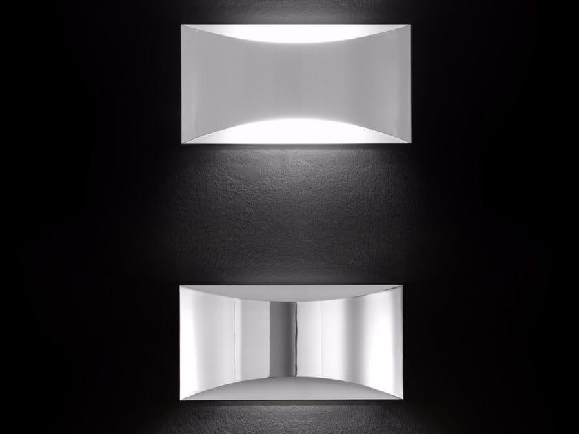 Lámpara de pared de metal revestido KELLY - 790 / 791 / 791BL / 791CR by Oluce