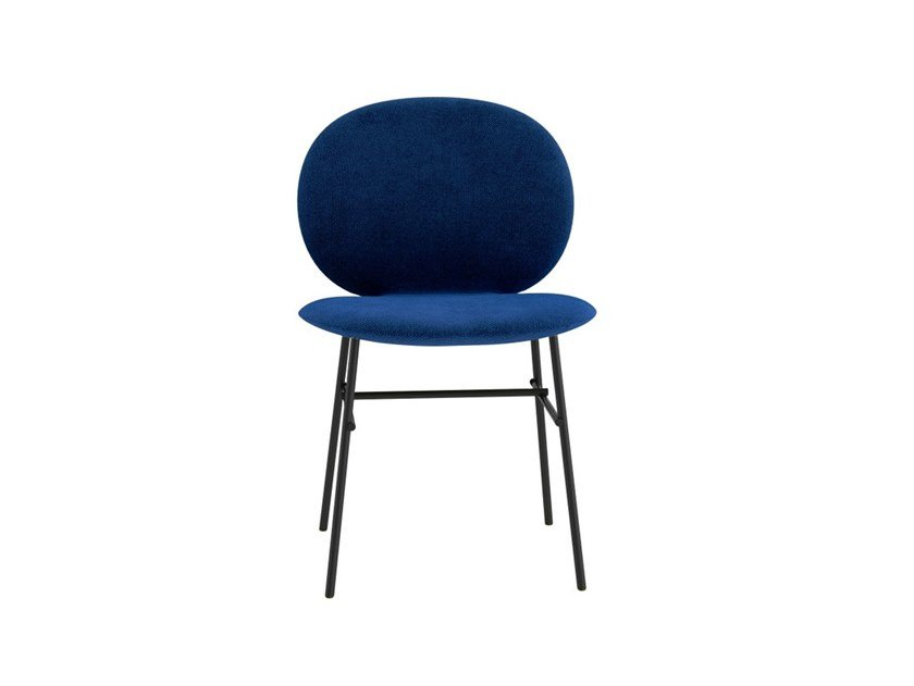 Upholstered fabric chair KELLY C by Tacchini