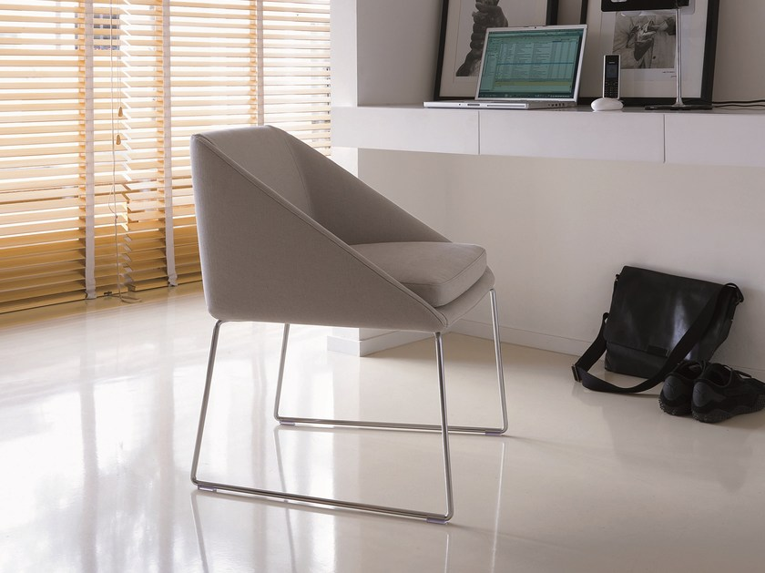 Fabric chair with removable cover KELLY | Chair by Verzelloni