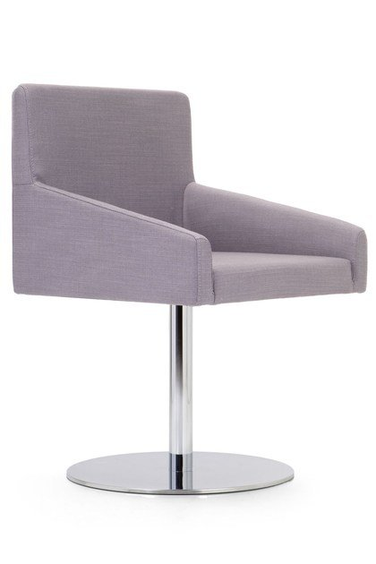 Swivel upholstered fabric easy chair KELLY LARGE | Easy chair by Domingo Salotti
