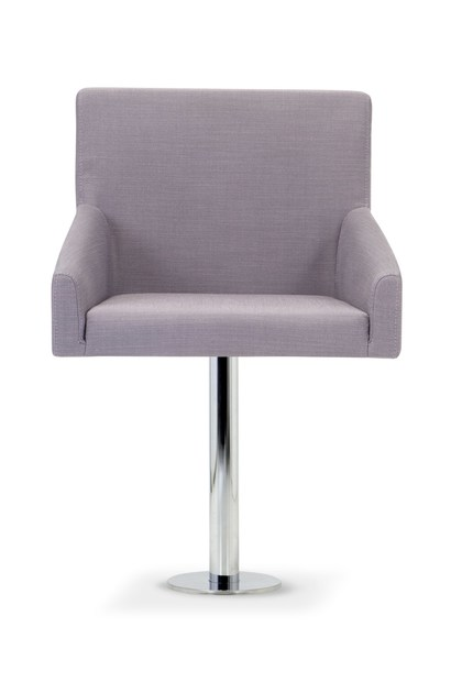Contemporary style upholstered fabric guest chair KELLY LARGE | Easy chair by Domingo Salotti