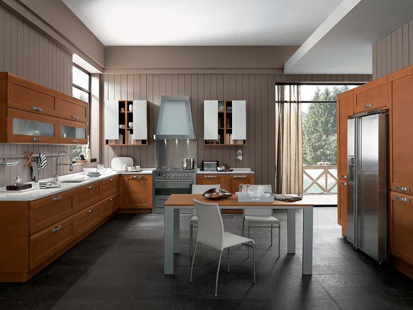 KELLY | Cucina in Okite® By Febal Casa design Alfredo Zengiaro