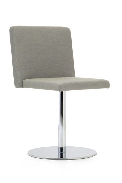 Swivel upholstered fabric chair KELLY SMALL | Chair by Domingo Salotti
