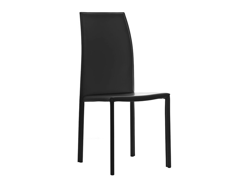 High-back leather chair KELLY | High-back chair by PIANCA