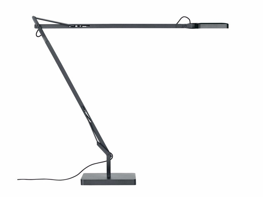 LED direct light with swing arm table lamp KELVIN LED by FLOS