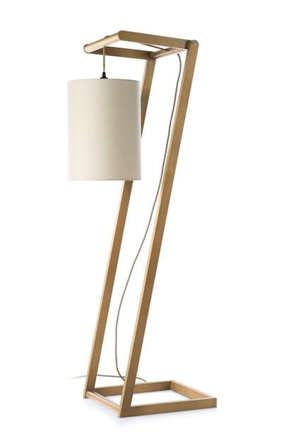 Contemporary style ash floor lamp KENDO by ENVY