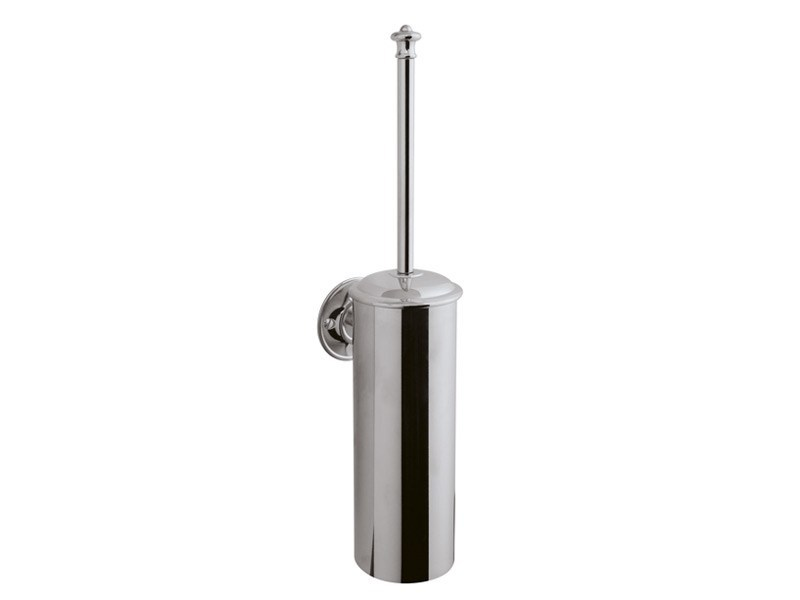 Wall-mounted toilet brush KENT | toilet brush holder wall mounted by GENTRY HOME