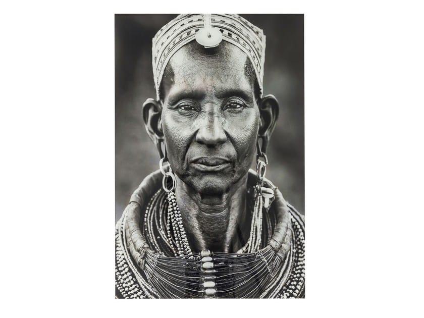 Photographic print / Print on glass KENYAN WOMAN by KARE-DESIGN