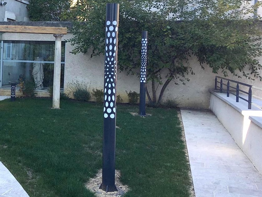 LED metal garden lamp post KEO | Garden lamp post by GHM-ECLATEC