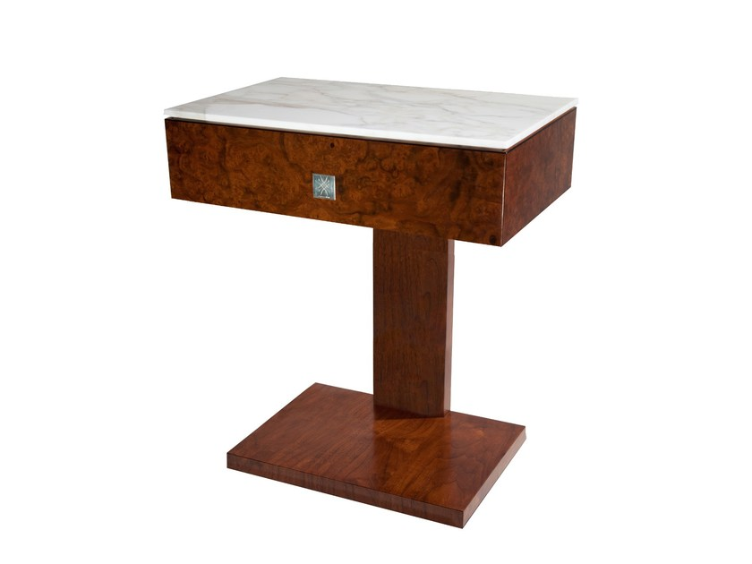 Rectangular bedside table KEPPEL | Bedside table by IVAR London