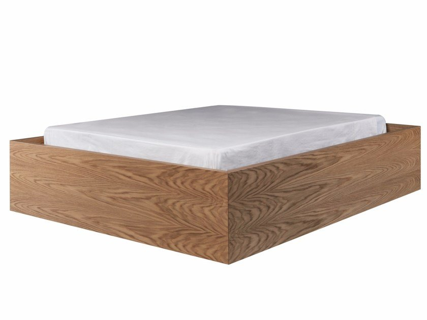 Wooden double bed KESS by AZEA