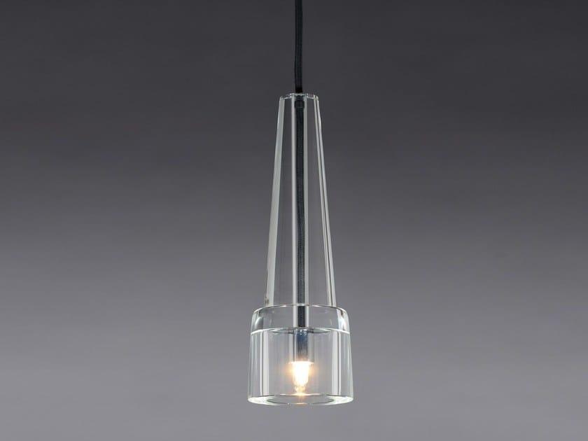 Direct light crystal pendant lamp KEULE 1 by Kalmar