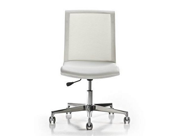 Task chair with 5-Spoke base KEY | Task chair with casters by Diemme