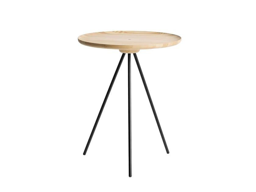 Tavolino di servizio rotondo KEY | Tavolino di servizio by Hem
